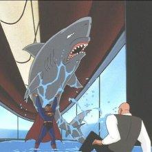 Le avventure di Superman: una scena della serie animata