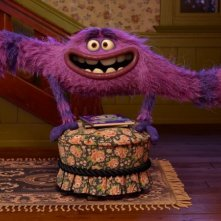 Monsters University: il buffo e irresistibile Art in una scena del film