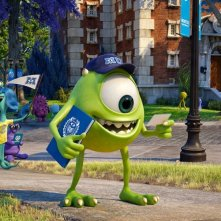 Monsters University: Mike Wazowski in una scena del film d'animazione