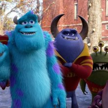 Monsters University: una immagine del film d'animazione