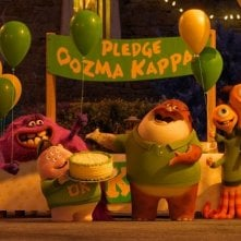 Monsters University: una scena del film d'animazione, sequel di Monster & Co.
