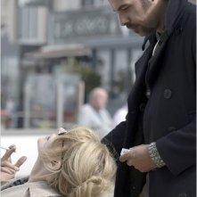 Fanny Ardant in una immagine di Les beaux jours con Laurent Lafitte