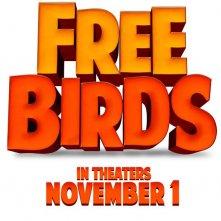 Free Birds: la locandina del film