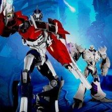 La locandina di Transformers Prime