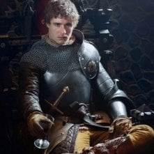The White Queen: Max Irons in una foto promozionale della serie