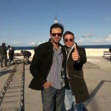 Crew2Crew - A un passo dal sogno: il regista Mark Bacci sul set insieme a Francesco Cippone