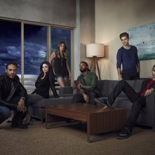Graceland: una foto promozionale del cast della serie