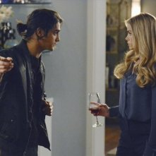 Twisted: Denise Richards ed Avan Jogia nell'episodio Grief is a Five-Letter-Word