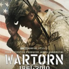 Wartorn: 1861-2010: la locandina del film