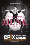Madonna: The MDNA Tour: la locandina del film