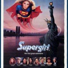 Supergirl - La ragazza d'acciaio: la locandina del film