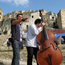 Basilicata Coast to Coast, Fabio Olmi e Max Gazzè sul set