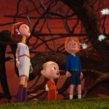 Eco Planet - Un pianeta da salvare: i piccoli eroi del film in una scena