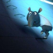 Eco Planet - Un pianeta da salvare: topolino in fuga in una scena del film