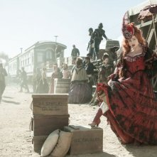 The Lone Ranger: Helena Bonham Carter nei panni dell'affascinante Red in una scena