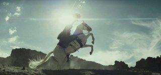 The Lone Ranger: una scena dell'avventuroso film diretto da Gore Verbinski