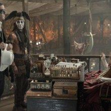 The Lone Ranger: una scena tratta dall'avventuroso kolossal di Gore Verbinski
