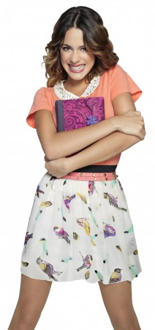 Violetta: Martina Stoessel in una foto promozionale della stagione 2