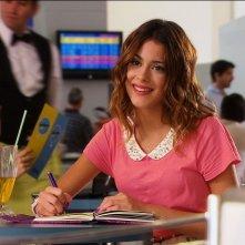 Violetta: Martina Stoessel in una scena del primo episodio della stagione 2
