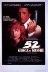 52 gioca o muori: la locandina del film