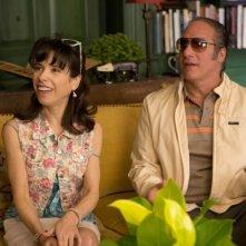 Blue Jasmine: Sally Hawkins ed Andrew Dice Clay in una scena del film