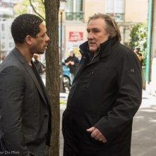 Gerard Depardieu accanto a Joey Starr nel poliziesco La marque des anges