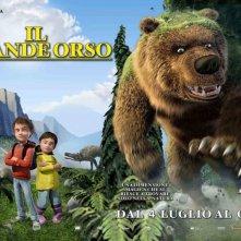 Il grande orso: poster orizzontale del film