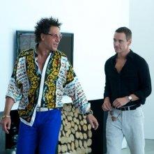 The Counselor - Il procuratore: Javier Bardem e Michael Fassbender in una scena del thriller