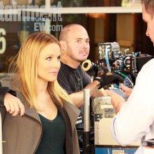 Veronica Mars: Kristen Bell in una prima foto sul set del film