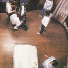 Kathy Bates con James Caan sul set di Misery non deve morire