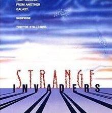 Strange Invaders: la locandina del film