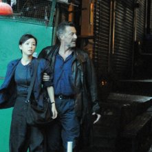Something Good: Luca Barbareschi e Zhang Jingchu in una scena del thriller
