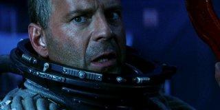 Bruce Willis in una scena di Armageddon (1998)