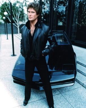 David Hasselhoff è Michael Knight nel telefilm Supercar