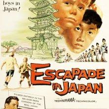 Due gentiluomini attraverso il Giappone: la locandina del film