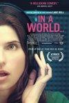 In a World...: la locandina del film