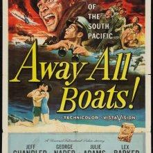 Scialuppe a mare: la locandina del film