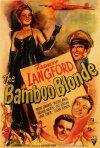 La bionda di bambu: la locandina del film