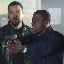 Ride Along: Kevin Hart e Ice Cube nella prima immagine della buddy cop comedy