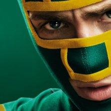 Kick-Ass 2: Aaron Johnson alias Kick-Ass in un'immagine promozionale