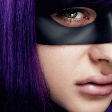 Kick-Ass 2: Chloe Moretz, alias Hit Girl, in una foto promozionale