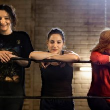 Les reines du ring: Marilou Berry, Nathalie Baye e Corinne Masiero