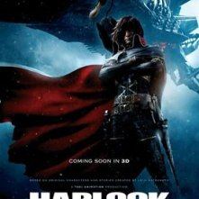 Space Pirate Captain Harlock: la nuova locandina