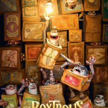 The Boxtrolls: la locandina del film