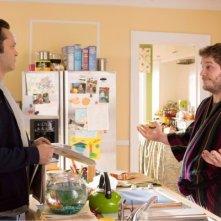 Delivery Man: Vince Vaughn e Chris Pratt in una scena del film