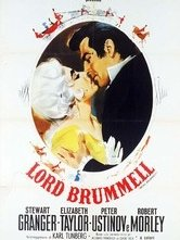 Lord Brummell: la locandina del film