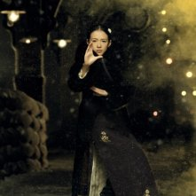 The Grandmaster: la protagonista Zhang Ziyi in una scena del film