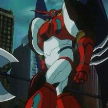 Getter Robot - The Last Day: una scena dell'anime