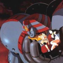 Giant Robot: Il giorno in cui la Terra si fermò: un'immagine della serie di OAV