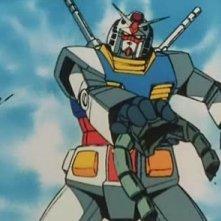 Mobile Suit Gundam: una scena tratta dall'anime